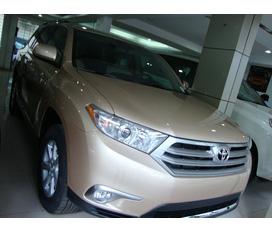 Hưng Việt Auto 538 Đường láng bán highlander 2012 màu vàng cát mới 100%, giao xe ngay, giá tốt