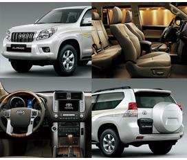 TOYOTA PRADO 2012 Phiên bản mới nhất đang có tại Toyota Long Biên