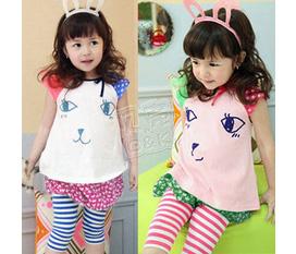 Thời trang cho bé gái hè 2012