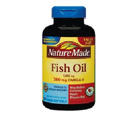 Dầu cá omega 3 1200mg Nature Made Cung cấp các viatmin khoáng chất giúp giảm nguy cơ bệnh tim mạch
