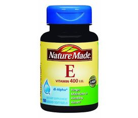 Nature Made Vitamin E 400IU, 300 Liquid Softgels