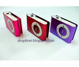 Mp3 Shufle nhỏ tiện lợi nhiều màu sắc cho bạn chọn lựa