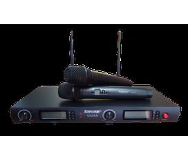 Shure UGX9 Micro không dây cao cấp, chất lượng tôt, âm thanh hay. Độ ổn định cao