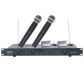 Hệ thống Micro hội nghị không dây cao cấp Shupu SM VC204 chuyên dùng cho hội họp, hội nghị cấp cao