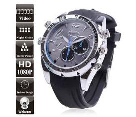 Đồng hồ Spy Camera IR Night Vision 8GB 1080P Waterproof Hidden HD Watch Camera