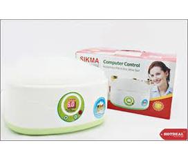 Máy làm sữa chua Sikma SK 09 có chế độ hẹn giờ và tặng 6 cốc nhựa