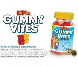 Vitamin dẻo gấu tổng hợp Gummy Vites 220 viên