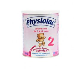 Sữa Physiolac số 2 6 12m nhập khẩu từ Pháp