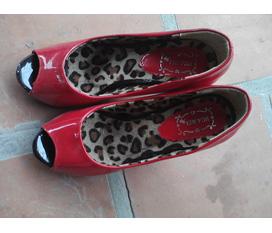 Thanh lý duy nhất 1 em Giày đỏ xinh lung linh, 9cm