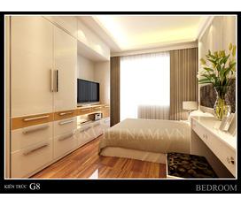 Thiết kế nội thất chung cư vimecco, miễn phí khâu thiết kế 3D