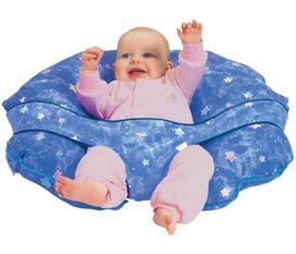 Gối hơi cho bé Leachco Cuddle U Nursing Pillow And More, hàng ship trực tiếp tại Mỹ