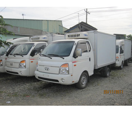Xe tải hyundai đông lạnh 1tấn nhập khẩu nguyên chiếc mới 100% giá siêu rẻ xe hồ sơ giao luôn