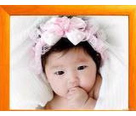 Dễ Thương Băng đô Bờm tóc bé gái từ sơ sinh trở lên