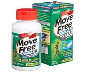Thuốc khớp Move Free Advanced plus 15000mg MSM 120 viên Move free xanh