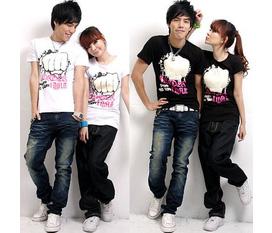 TOPIC 4: Áo đôi, áo phông nam nữ cotton , có bán sỉ và lẻ, hàng order