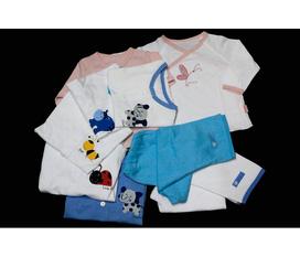Phân phối quần áo sơ sinh Lullaby và Miomio