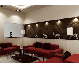 Thiết kế nội thất phòng khách đẹp, không gian ấm áp cho gia đình bạn