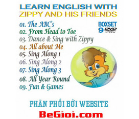 9 DVD Learn English with Zippy and His Friends