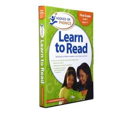 9 DVD Hooked on phonics giúp trẻ chuẩn hóa kỹ năng đọc tiếng Anh