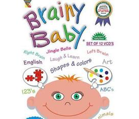 12 DVD Brainy Baby phát triển trí thông minh cho bé từ 6 tháng đến 3 tuổi