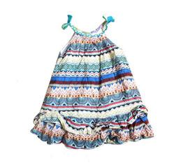 Váy Kẻ Thời Trang Cho Bé Gái