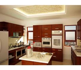 Thiết kế thi công phòng bếp đẹp, sang trọng và tiện lợi