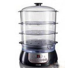 Giữ trọn hương vị và chất dinh dưỡng với nồi hấp điện đa năng 3 tầng electric steamer SC1200A