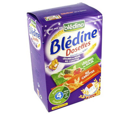 Bột ăn dặm Blédina Vị gạo, cà rốt rau củ