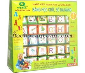 Bảng học chữ số đa năng Phát triển ngôn ngữ và tư duy cho bé.