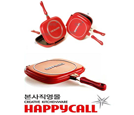 Chảo hai mặt happy call/ chảo chống dính 2 mặt Hàn Quốc/ chảo áp suất 2 mặt giảm giá tới 45%, nhanh tay số lượng có hạn