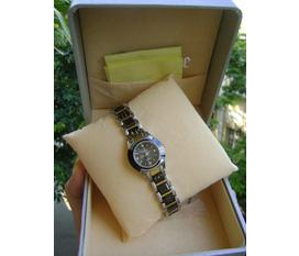 Thanh lí đồng hồ polo gold sapphire crystal nữ,verxice xách tay SIng nguyên hoá đơn