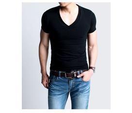 Áo thun nam body trơn,cổ tim,thấm hút mồ hôi,đủ màu...Khuyến mãi 10% khi mua các mặt hàng.Áp dụng từ ngày 1.7 đến 31.7