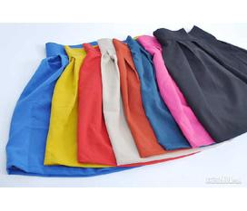 Chân váy xếp ly sắc màu rực rỡ 90k