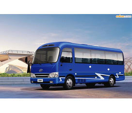 ĐẠI LÝ XE TẢI SYM, County Hyundai Motor COUNTY HM Xe 3 Cục county hyundai 29 chổ than dài , county 29 chổ 3 cục