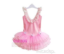 Đầm bale hồng dễ thương, quần jean phong cách cho trẻ