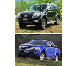 Trả thẳng, trả góp các dòng Ford 2012 hiện đại, kiểu cách: Ford Fiesta, Ford Focus, Ford Mondeo, Ford Everest....
