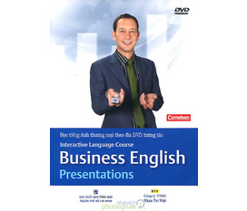 Bán Bộ sách kèm đĩa Interactive language course Business english
