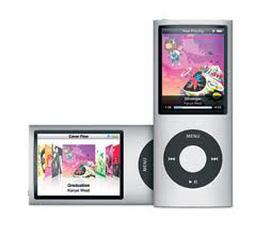 IPod nano gen 4 4Gb. nghe nhạc, xem phim, xem hình, ghi âm, FM radio...