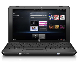 Netbook HP mini 1001tu, HP mini 110 Atom N280 2x1.66g 1g 160g 10.1in LED WC new 99%