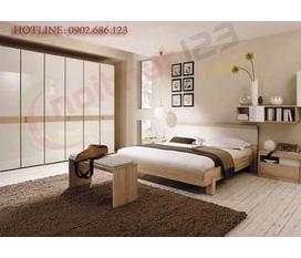 Phòng ngủ sang trọng, hiện đại, trẻ trung với Nội thất 123