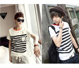 Hàng 100 mẫu áo thun hàn quốc teen 2012 vải thun 4 chiều, mực in đẹp