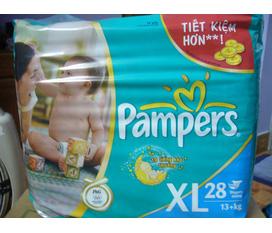 Bỉm Pamper size XL hơn 13kg bán lại giá siêu rẻ nhé