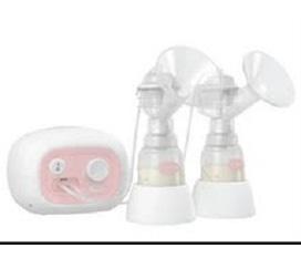 Máy hút sữa đôi bằng điện không có BPA Unimom Forte Cải Tiến có mátxa silicon, made in Korea UM880038
