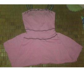 Váy hồng sen size S, chất đẹp