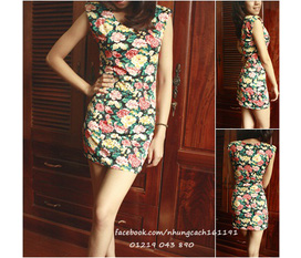 Bin Shop Mùa hè xinh đẹp với các mẫu áo váy kiểu cách, xinh yêu nhé các bạn gái :x:x