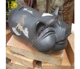Tượng thú gốm sứ quà tặng trang trí nhà nhiều kiểu