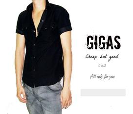 Áo sơ mi,cổ tim,áo thun Quảng Châu model mới nhất cho nam hè 2012 chỉ có tại Gigas ,hàng có sẳn ,hình thật hàng thật