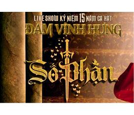 Liveshow kỷ niệm 15 năm ca hát của Đàm Vĩnh Hưng tại Hà Nội.