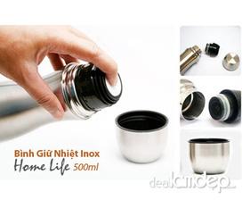 Bình giữ nhiệt 3 lớp Home Life 500 ml giá chỉ 94k
