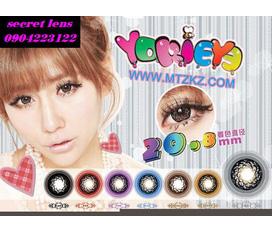 Cửa hàng bán kính giãn tròng contact lens giá rẻ nhất, uy tín nhất 20.8mm và 18.5mm hàngcực độc